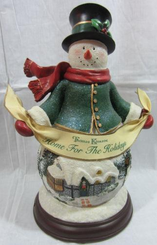 Thomas Kinkade Home For The Holidays EBay