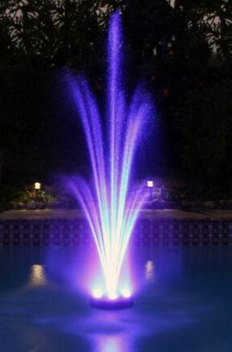 Led Fountain Lights Underwater