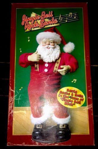 Jingle Bell Dancing Santa EBay