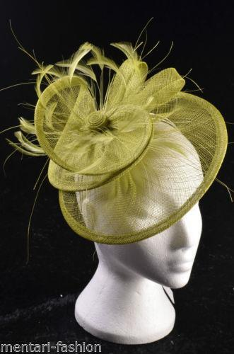 Green Fascinator Hat EBay