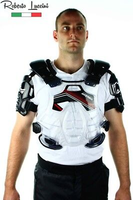 Acerbis Brustpanzer BOMBER Enduro Motocross Quad Sonderangebot Schwarz