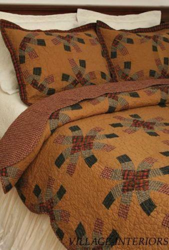 King Size Wedding Ring Quilts