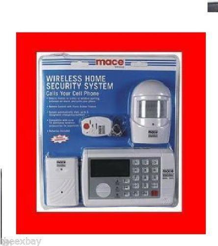 Wireless System Home Security Mace
