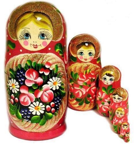 Dolls Matryoshka Nesting