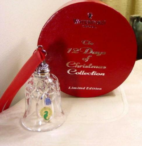 Waterford 12 Days Of Christmas Bells EBay