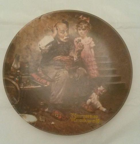 Vintage Norman Rockwell Plates EBay