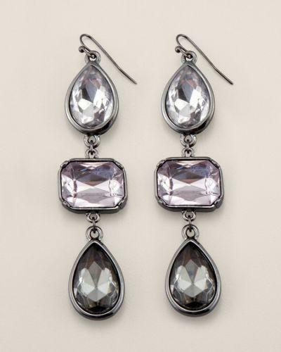 Chicos Silver Earrings