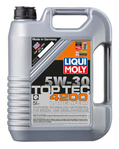 LIQUI MOLY TOP TEC 4200 5W-30 5 LITER MOTOR-ÖL 3707