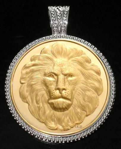 Lion Medallion Jewelry Amp Watches EBay