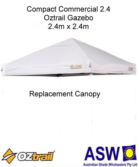 White Gazebo Replacement Canopy