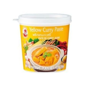 400g Cock Gelbe Curry Paste Yellow Gelb Thailand gelbes Thaicurry
