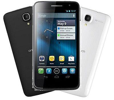 Alcatel One Touch Scribe HD Dual Sim schwarz oder weiss Smartphone ohne Vertrag