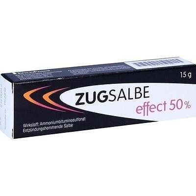 ZUGSALBE effect 50% Salbe 15 g PZN 11517539