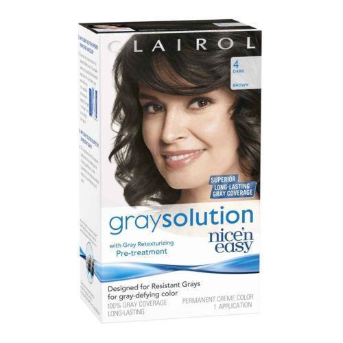 Clairol Hair Color Gray