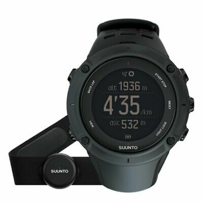 Suunto Ambit3 Peak HR Black GPS Heart Rate Watch SS020674000 Brand NEW