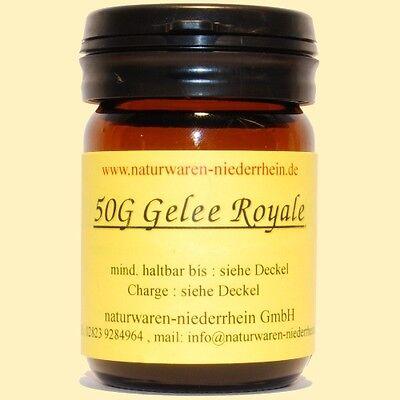 50g reines Gelee Royale + Analyse  -  50g Gelee Royal