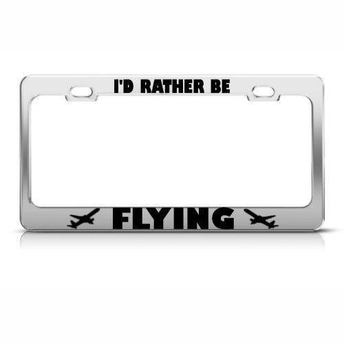 Fly Fishing License Plate Frames