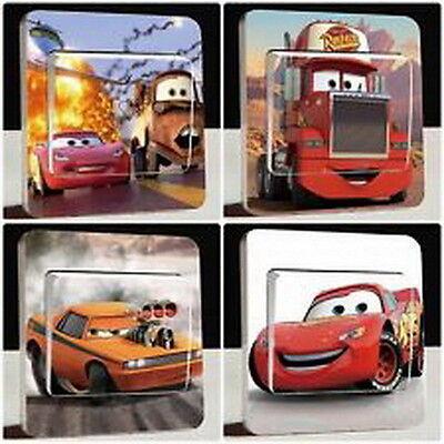 Lichtschalter Sticker Aufkleber Disney Cars