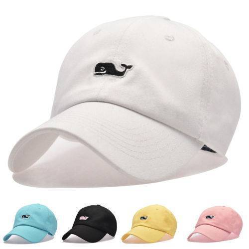 Vineyard Vines Whale Adjustable Baseball Cap Snapback Embroidered Dad Sun Golf 1