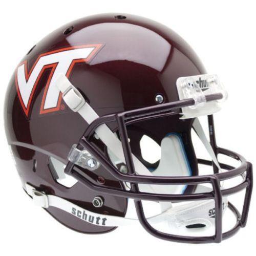 Virginia Helmets Tech Football New