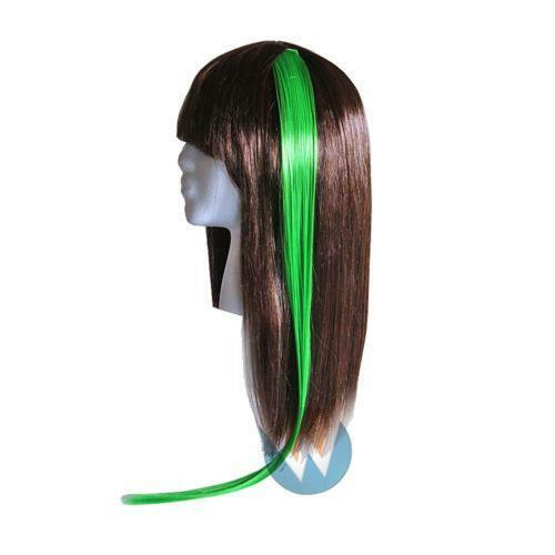 Green Clip Hair Extension EBay