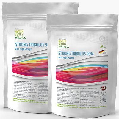 2x 250 Tabeltten TRIBULUS TERRESTRIS - 90 % Saponin Testosteron Booster Potenz