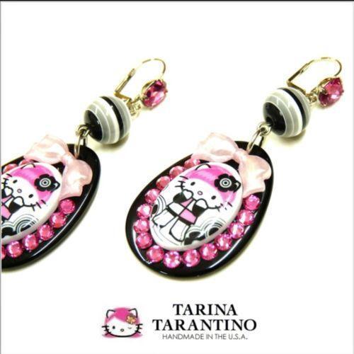 6df29f53e hello kitty - Hello Kitty Hoop Earrings