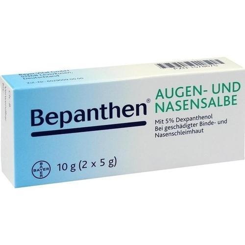 BEPANTHEN Augen- und Nasensalbe 10 g PZN 1578675