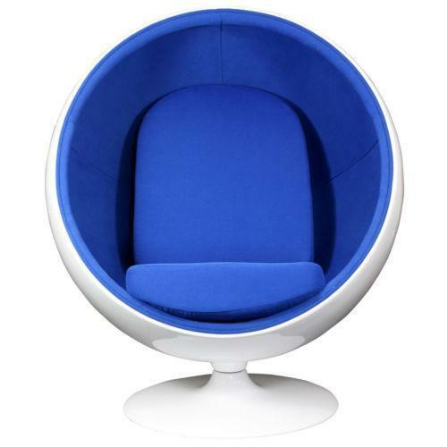Leather Swivel Lounge Chair