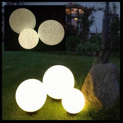 Gartenkugel Kugelleuchte XXL 30 40 50 Lichtkugel Kugellampe Leuchte Licht Garten