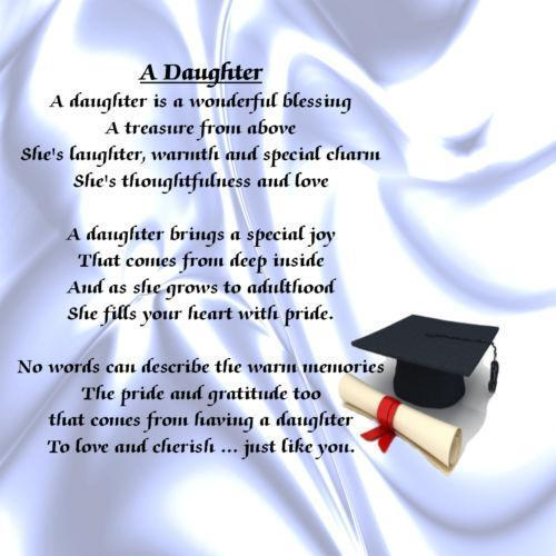 Words Graduating Daughter