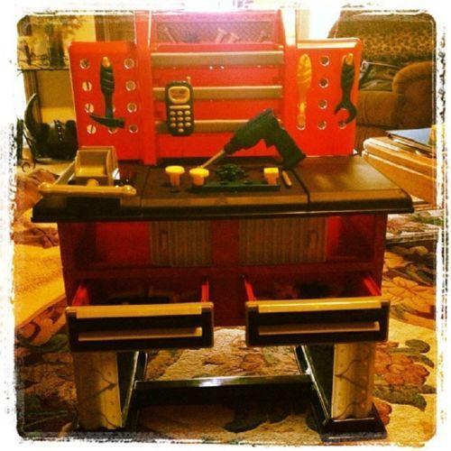 Kids Toy Work Bench Ebay