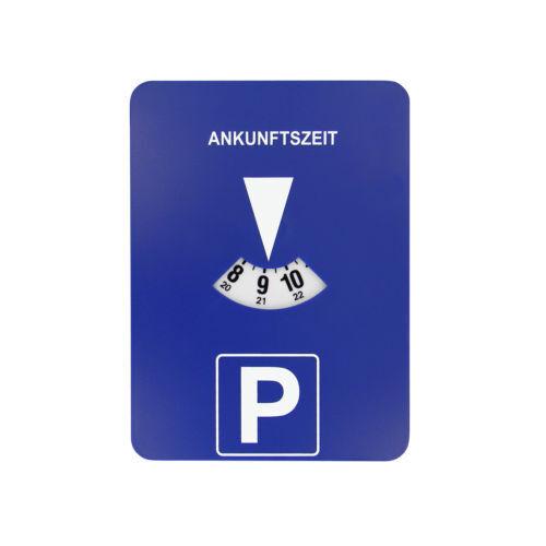 Elektronische mitlaufende Parkscheibe Parkuhr mit Uhrwerk Uhr *NEU*