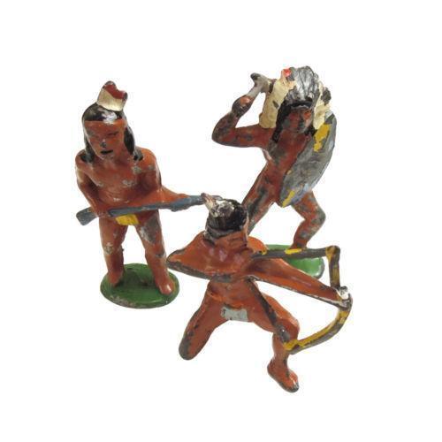 Antique Lead Figures EBay