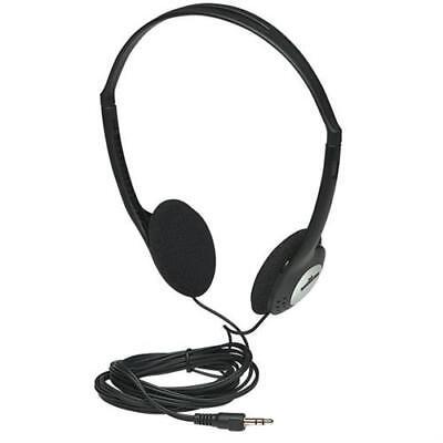 Manhattan Stereo Kopfhörer Ultraleicht 3,5mm Klinkestecker schwarz 177481