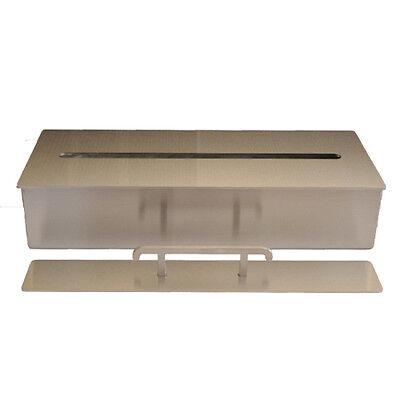 Bio Ethanol Burner Firebox Stainless Steel Fireplace Table Decoration 4l / 40 cm