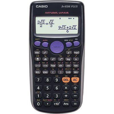 Schulrechner Taschenrechner Technisch-Wissenschaftliche Rechner Casio FX-82DE +