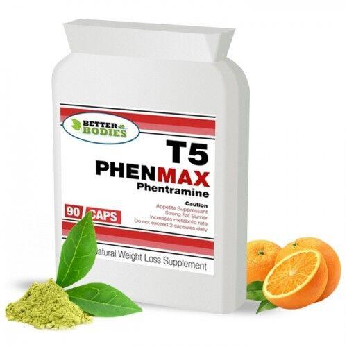 T5 PhenMax STARK Appetithemmer Diätpillen PHENTRAMIN Gewichtsverlust