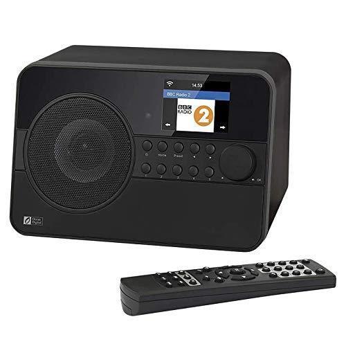 Digitalradio DAB Radio Internetradio Radiowecker mit WLAN und AUX-IN WR-238CD