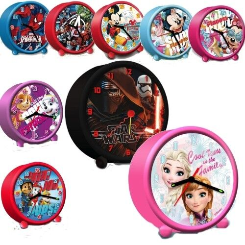 Disney Kinder Kinderwecker Lernwecker Alarm Analog Zeiger Uhr Wecker Paw Patrol