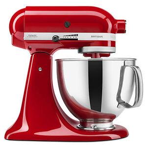 KitchenAid Stand Mixer tilt 5-QT Ksm150ps All Metal Artisan Tilt Choose Color