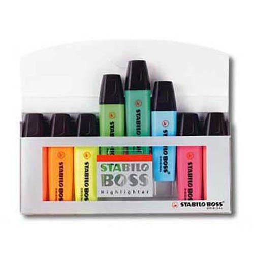 STABILO Textmarker BOSS ORIGINAL Einzeln im Set auch Pastell Farben
