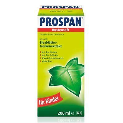PROSPAN Hustensaft 200ml PZN 08586005