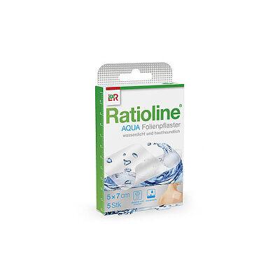 RATIOLINE aqua Duschpflaster 5x7cm 5St PZN 01805409