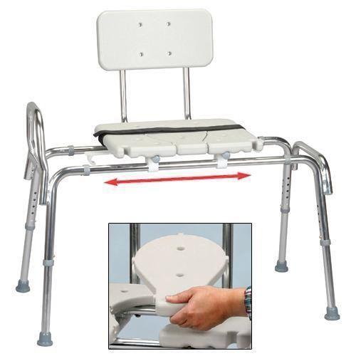 Sliding Transfer Bench Bathroom Safety Ebay