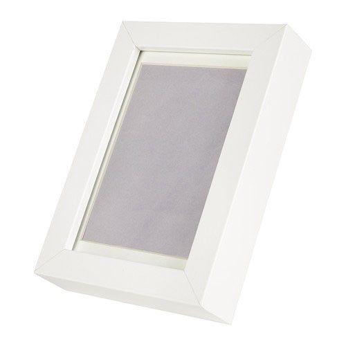 Mirror Box Shadow White