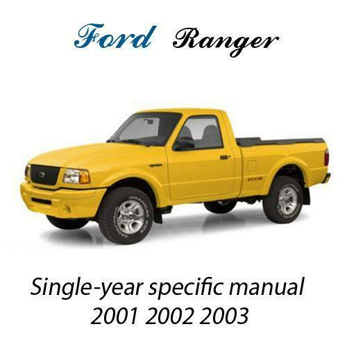2003 ford ranger service manual