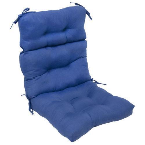 Outdoor High Back Chair Cushions Ebay