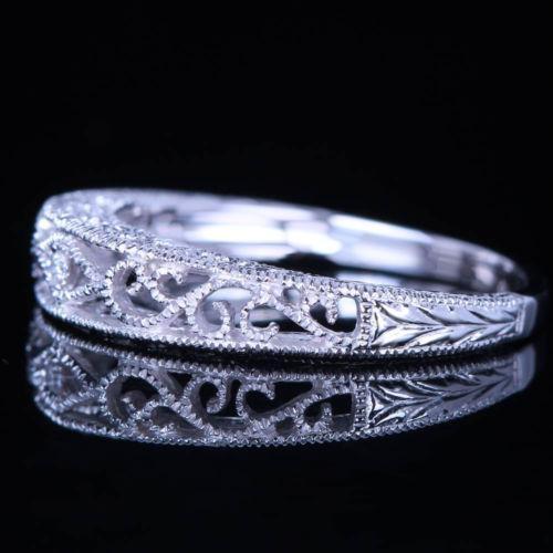 Filigree Wedding Band EBay