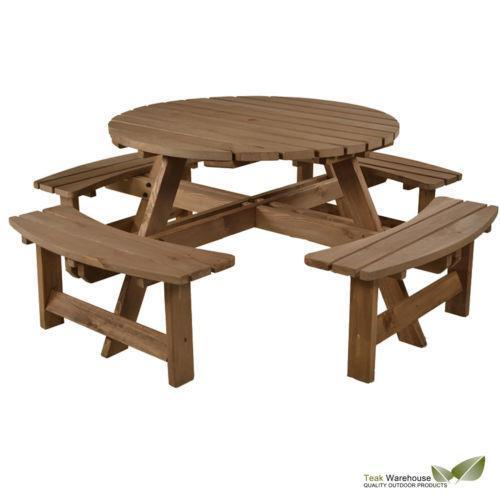 Garden Furniture 8 Seater Table